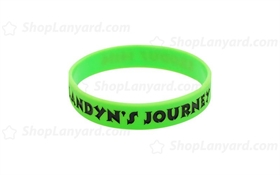 Light Green Colorfilled Wristband-CFW12ASO
