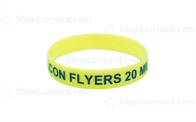 Light Yellow Colorfilled Wristband-CFW12ASO