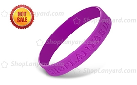 Debossed Silicone Wristband-DW12ASO